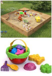 Самые нужные игрушки для песочницы