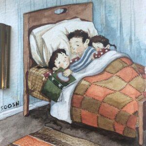 почитать хорошую книгу перед сном