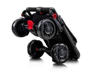 Omnio Stroller коляска в сложенном виде габариты