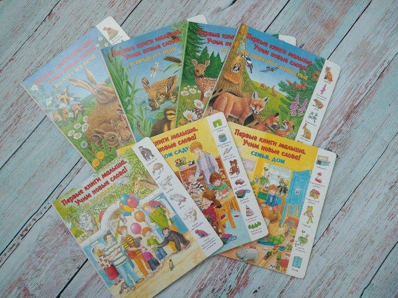 Первые книги малыша учим первые слова