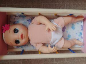 Baby Alive Любимая малютка под одеждой - телесного цвета