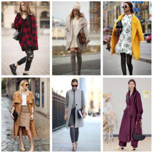 гардероб для мам на осень: пальто