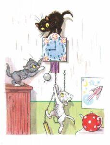 Три котенка Сутеева