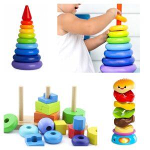 игрушка в 1 год пирамидка
