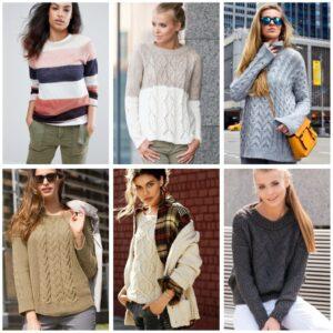 стильные свитера для повседневного образа
