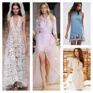 тенденции 2018 в модных платьях