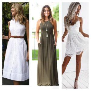 модные платья сарафаны