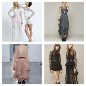 самые красивые кружевные платья
