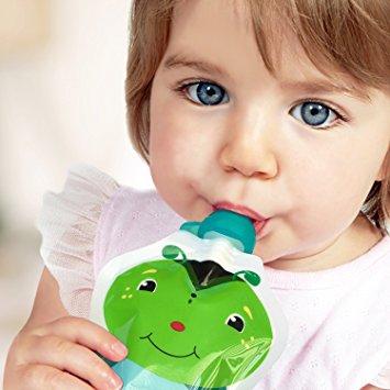упаковка детского пюре в дой-пак