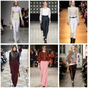 тренды 2018-2019: модные брюки