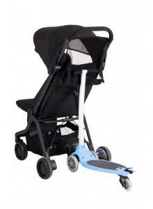легкая коляска для путешествий Mountain buggy nano с подножкой для старшего ребенка