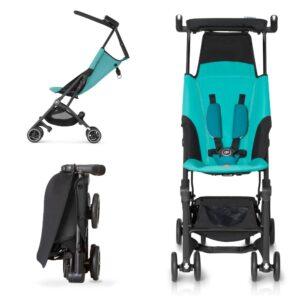 GB Pockit - самая компактная коляска для детей 2-3 лет, подходит даже для крупных и тяжелых детей