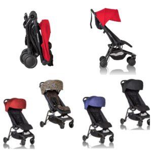 Компактная коляска для путешествий Mountain Buggy Nano - идеальная коляска для детей 3 лет