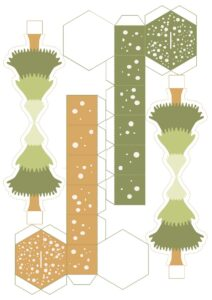 новогодний адвент-календарь Лесные животные