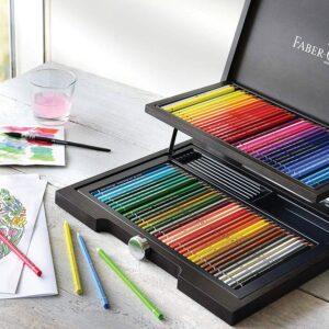 акварельные карандаши для детей Файбер Кастл