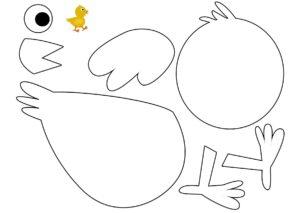 Аппликации из бумаги Птицы