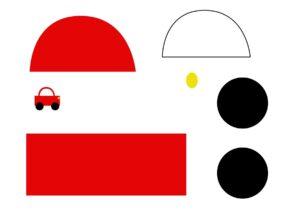 Аппликации транспорт распечатать шаблон бесплатно