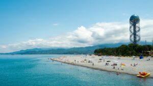 пляж с Батуми