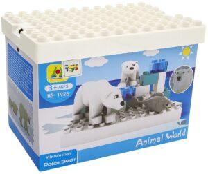 пластиковые конструкторы для детей в 1 год