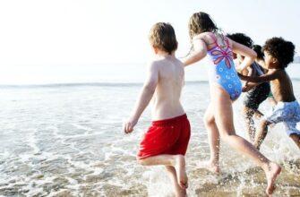 чем занять ребенка на море на пляже