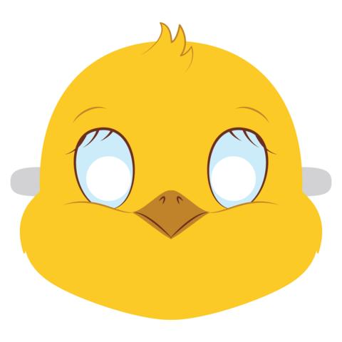 Цыпленок маска детская