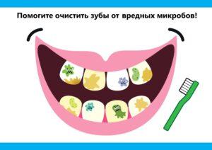 как научить малыша чистить зубы