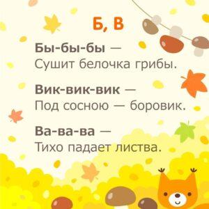 Чистоговорки для развития речи ребенка