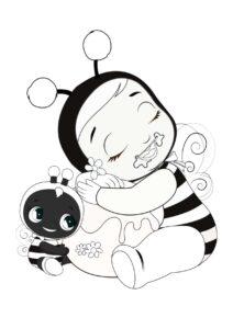 Раскраска Cry Babies Бити