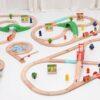деревянная железная дорога для детей