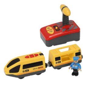 деревянная железная дорога для детей с дистанционным управлением