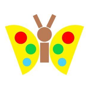 детская аппликация из геометрических фигур