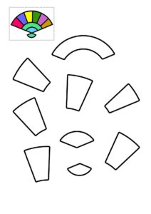 Черно-белые шаблоны для бумажного конструирования