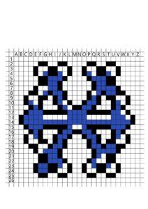 распечатать пиксельные раскраски по клеточкам