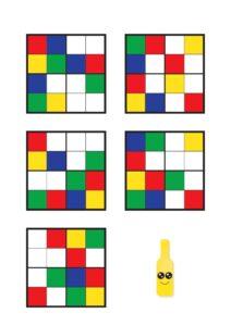 Судоку по цветам для детей