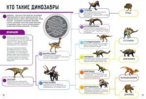 книги про динозавров