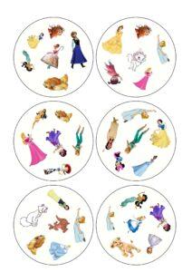карточки доббль с принцессами скачать бесплатно