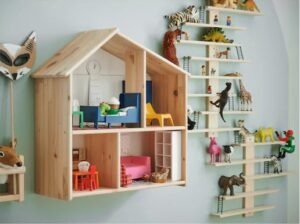 Деревянный дом для кукол своими руками