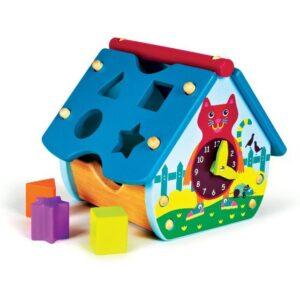 Домик сортер универсальная игрушка для детей