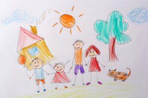 Этапы развития способности к рисованию у детей