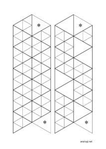 Схемы гексафлексагона