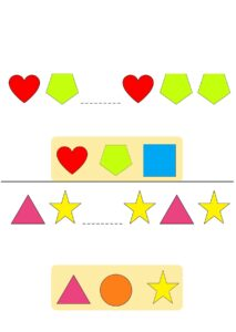 задание на закрепление знаний о геометрических фигурах для дошкольников