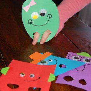 Представление о геометрических фигурах у дошкольников