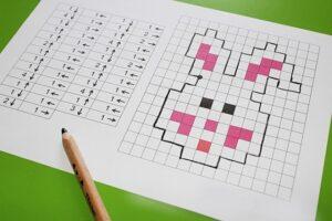 графические диктанты для самостоятельной работы