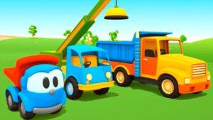 мультфильм для детей 2 лет: Грузовичок Лева