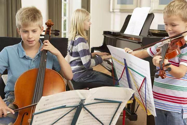 музыкальные увлечения ребенка