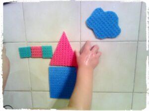 игрушка мозаика для ванны своими руками