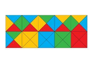 игра Квадраты для развития пространственного воображения