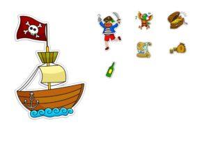 """Игра на употребление предлогов """"Пиратский остров"""""""