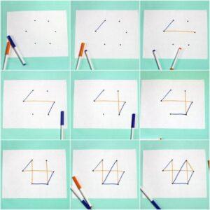 """Игра с ручкой и бумагой для двоих """"СИМ"""""""