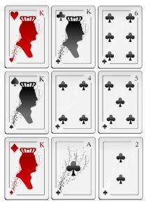 Распечатать колоду игральных карт с джокером - 54 карты